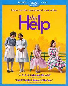 The Help (Blu-ray/DVD, 2011, 2-Disc Set)