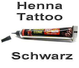 henna paste in tube schwarz 25g aus indien henna tattoo. Black Bedroom Furniture Sets. Home Design Ideas