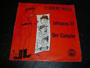 Herbert Hisel Jahrgang 22 Der Campler Tempo Schallplatten EP 4131 - Rotwandhaus, Deutschland - Herbert Hisel Jahrgang 22 Der Campler Tempo Schallplatten EP 4131 - Rotwandhaus, Deutschland