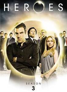Heroes - Season 3 (DVD, 2009, 6-Disc Set...