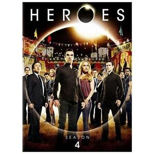Heroes: Season 4 (DVD, 2010, 5-Disc Set)