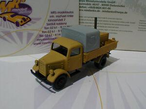 Herpa-Minitanks-745017-Mercedes-Benz-Pritschen-LKW-mit-Feldkueche-beige-1-87