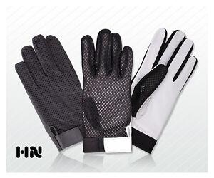 herren fahrer handschuhe netz weich d nn lammfell leder. Black Bedroom Furniture Sets. Home Design Ideas