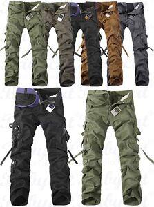 herren milit r l ssig cargo hose pants trousers freizeithose kampfhose neu h15 ebay. Black Bedroom Furniture Sets. Home Design Ideas