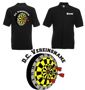 Herren-Polo-Shirt-fuer-Dartvereine-Dartscheibe-Dartpolo-Dartshirt