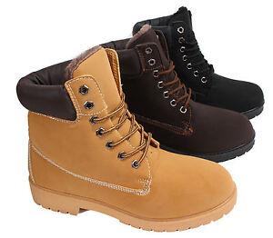 Herren-Schuhe-Stiefel-Stiefelette-Boots-Outdoor-Winterstiefel-Gefuettert-6301M-1
