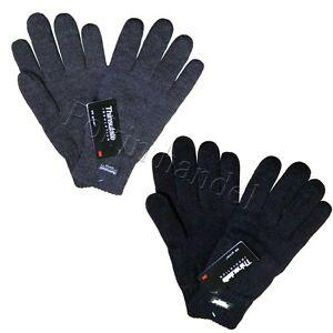 Herren-Strick-Handschuhe-Strickhandschuhe-Waerme-Thinsulate-Handschuhe