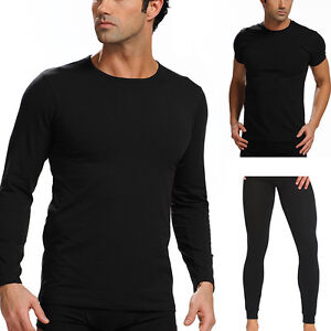 herren thermo unterw sche langarm kurzarm shirt unterhose s m l xl xxl ebay. Black Bedroom Furniture Sets. Home Design Ideas