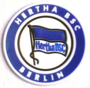 hertha bsc berlin 3d magnet logo fanmagnet wappen ebay. Black Bedroom Furniture Sets. Home Design Ideas