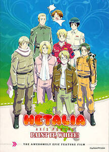 Hetalia: Paint It, White! (DVD, 2011)