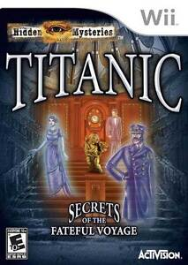 Hidden Mysteries: Titanic  (Wii, 2009)