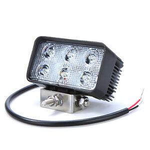 high intensity 18w 6led work light foglight for jeep suv. Black Bedroom Furniture Sets. Home Design Ideas