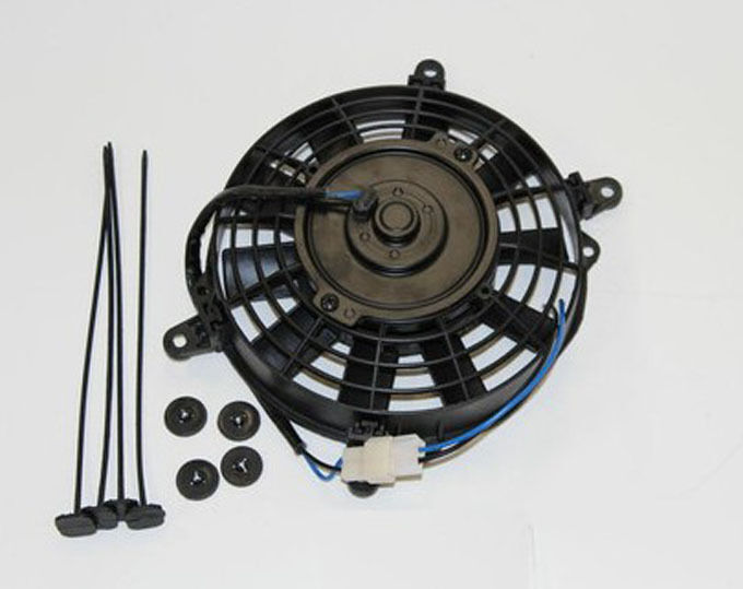 High Cfm 12v Cooling Fans : High performance straight blade electric radiator