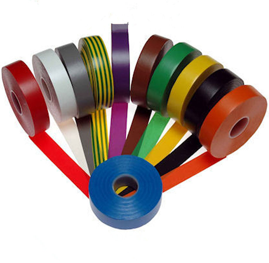 10m 5colors Fashion Vinyl Electrical Tape Insulation