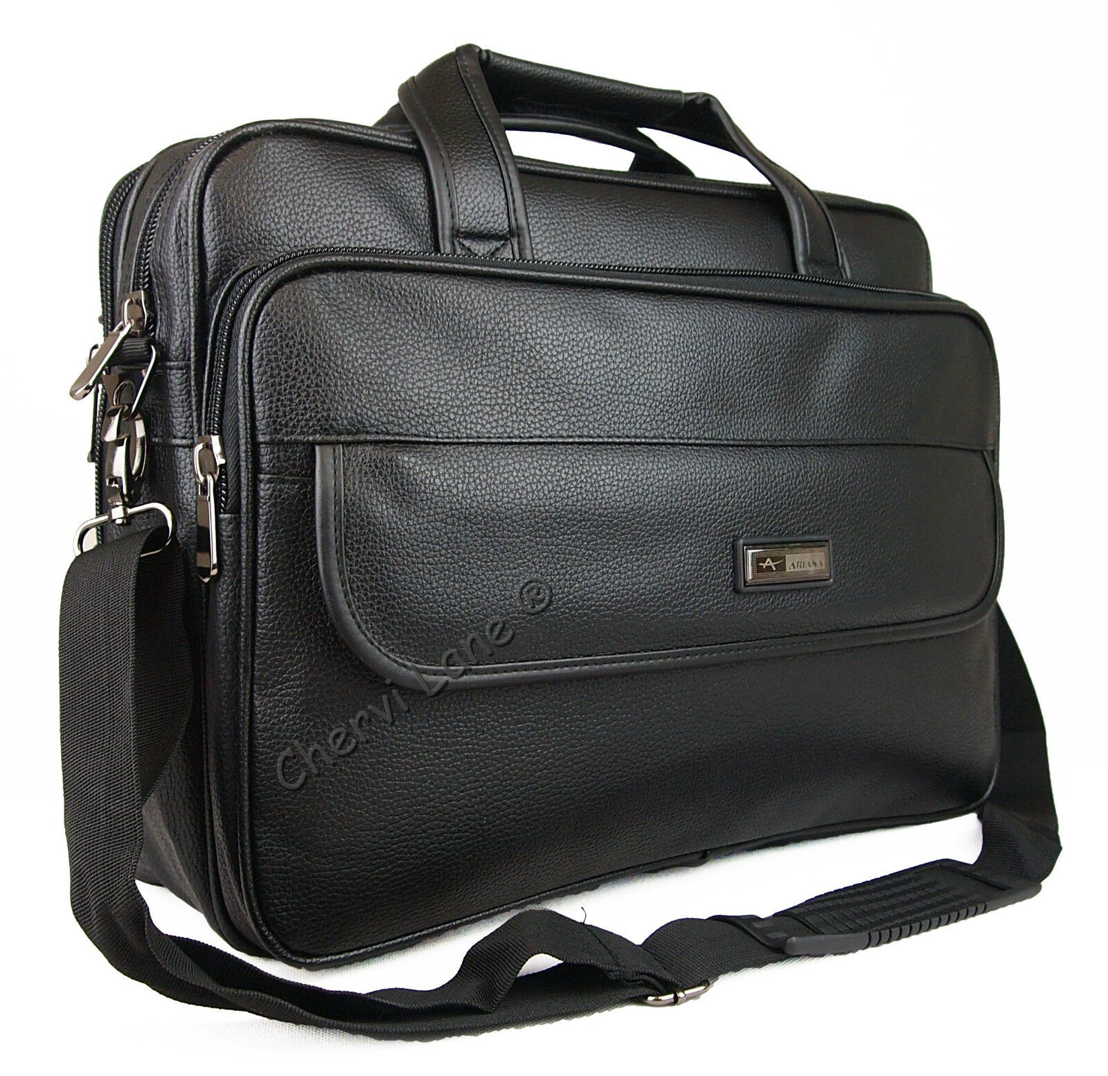 Perfect Mens Womens High Quality Faux Leather Business Briefcase Satchel Work Case Bag | EBay