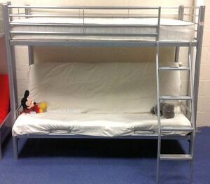 high sleeper bunk bed with double futon new highsleepers
