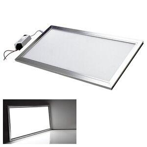 highpower led panel 60x30cm 20w slim lampe leuchte kaltwei neu ebay. Black Bedroom Furniture Sets. Home Design Ideas