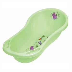 hippo large baby bath tub green ebay. Black Bedroom Furniture Sets. Home Design Ideas