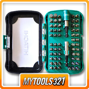 Hitachi-60-teiliges-Schrauberbit-Set-Box-Bit-Satz-Box-Sortiment-wow