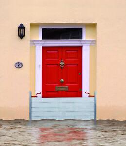 hochwasserschutz dammbalken spuntwand wasserschutz f r t ren und tore ebay. Black Bedroom Furniture Sets. Home Design Ideas