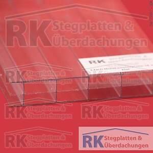 hohlkammerplatten stegplatten 3 fach 16 mm 980 mm breit klar 16 99 euro m ebay. Black Bedroom Furniture Sets. Home Design Ideas