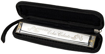 Hohner 455 Echo Celeste Tremolo Tuned Harmonica Key of C in Musical Instruments & Gear, Harmonica, Contemporary | eBay