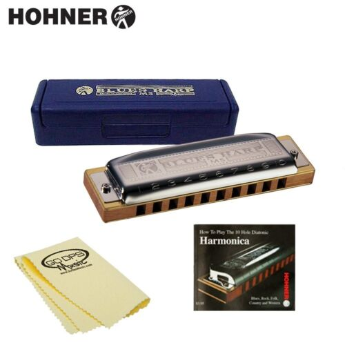 Hohner 532BX-C Blues Harp MS in Key of C Harmonica w Case, Instructional Booklet in Musical Instruments & Gear, Harmonica, Contemporary | eBay