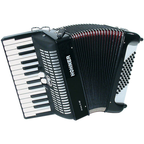 Hohner Bravo II Piano Accordion 48 Bass 26 Keys - Black in Musical Instruments & Gear, Accordion & Concertina | eBay