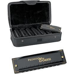 Hohner Piedmont Blues 7-Harmonica Pack with Case in Musical Instruments & Gear, Harmonica, Contemporary | eBay