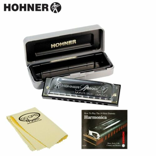 Hohner Special 20 Classic Harmonica in Key of C 560BX-C w Case, Instructional in Musical Instruments & Gear, Harmonica, Contemporary | eBay