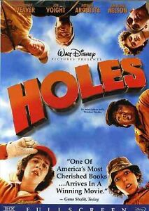 Holes (DVD, 2003, Full Screen 1.33)