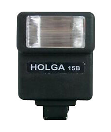 Holga 15B Shoe Mount Flash ('Blue')