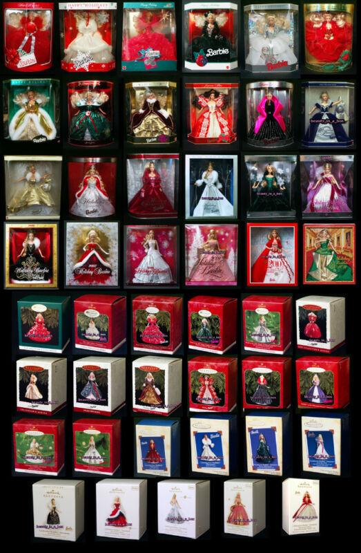 Holiday Celebration Christmas Barbie Hallmark Ornament ...