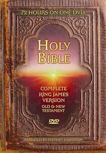 Holy Bible: King James Version - Complete Bible (DVD, 2009) in DVDs & Movies, DVDs & Blu-ray Discs | eBay