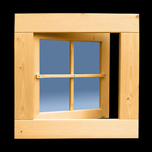 holzfenster sprossenfenster gartenhausfenster 72 x 72 cm drehfenster neu ebay. Black Bedroom Furniture Sets. Home Design Ideas