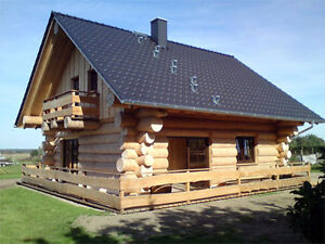 holzhaus naturstammhaus blockhaus energiesparhaus in in. Black Bedroom Furniture Sets. Home Design Ideas