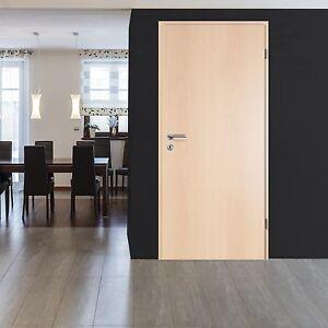 holzt r zimmert r cpl holz dekor rotbuche mit schloss und bandh lsen din rechts ebay. Black Bedroom Furniture Sets. Home Design Ideas