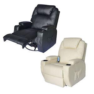 homcom massagesessel fernsehsessel relaxsessel tv sessel mit heizfunktion ebay. Black Bedroom Furniture Sets. Home Design Ideas