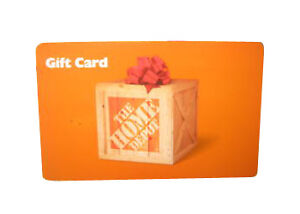 100 home depot gift card no expiration good in store for 0 home depot credit card