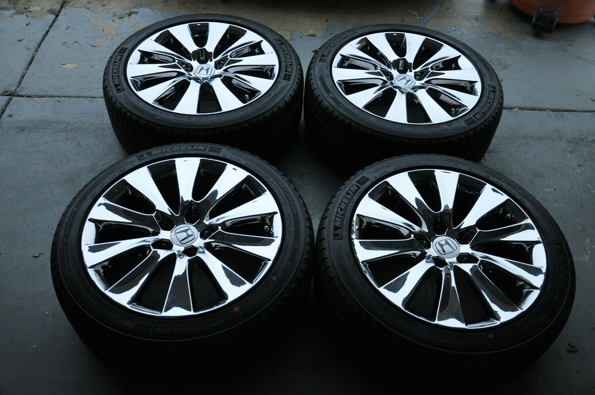 Honda Accord Chrome 18 OEM Wheels, Rims+Tires*****