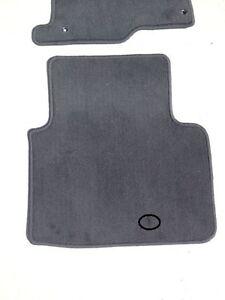 honda accord sedan carpet floor mats black 2008 2009 2010 2011 2012 ebay. Black Bedroom Furniture Sets. Home Design Ideas