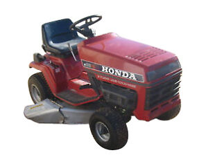 honda lawn mower repair manual