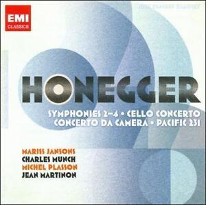 Honegger: Symphonies Nos. 2-4; Cello Con...