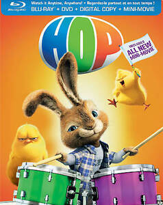 Hop (Blu-ray/DVD, 2012, Canadian; Steelb...