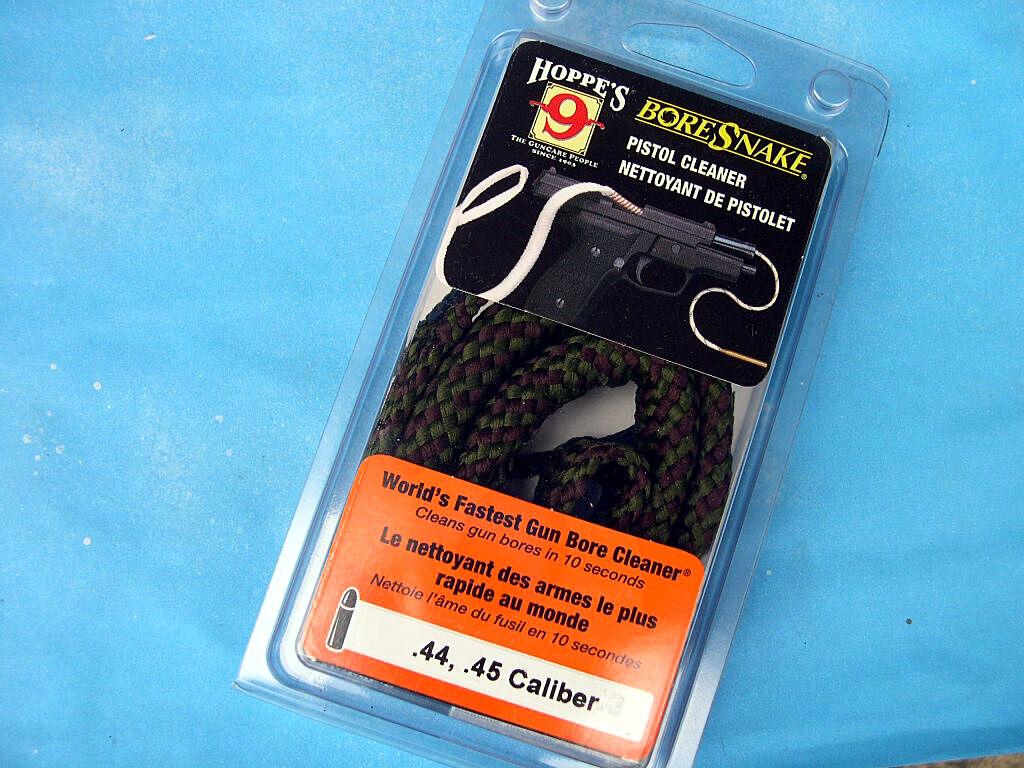 how to use a hoppe bore snake