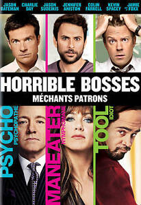 Horrible Bosses (DVD, 2011, Canadian)