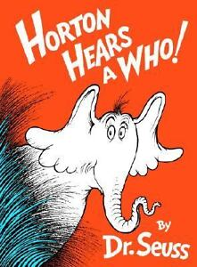 Horton Hears a Who! by Dr. Seuss (1954, ...