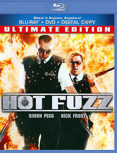 Hot Fuzz (Blu-ray/DVD, 2011, 2-Disc Set,...