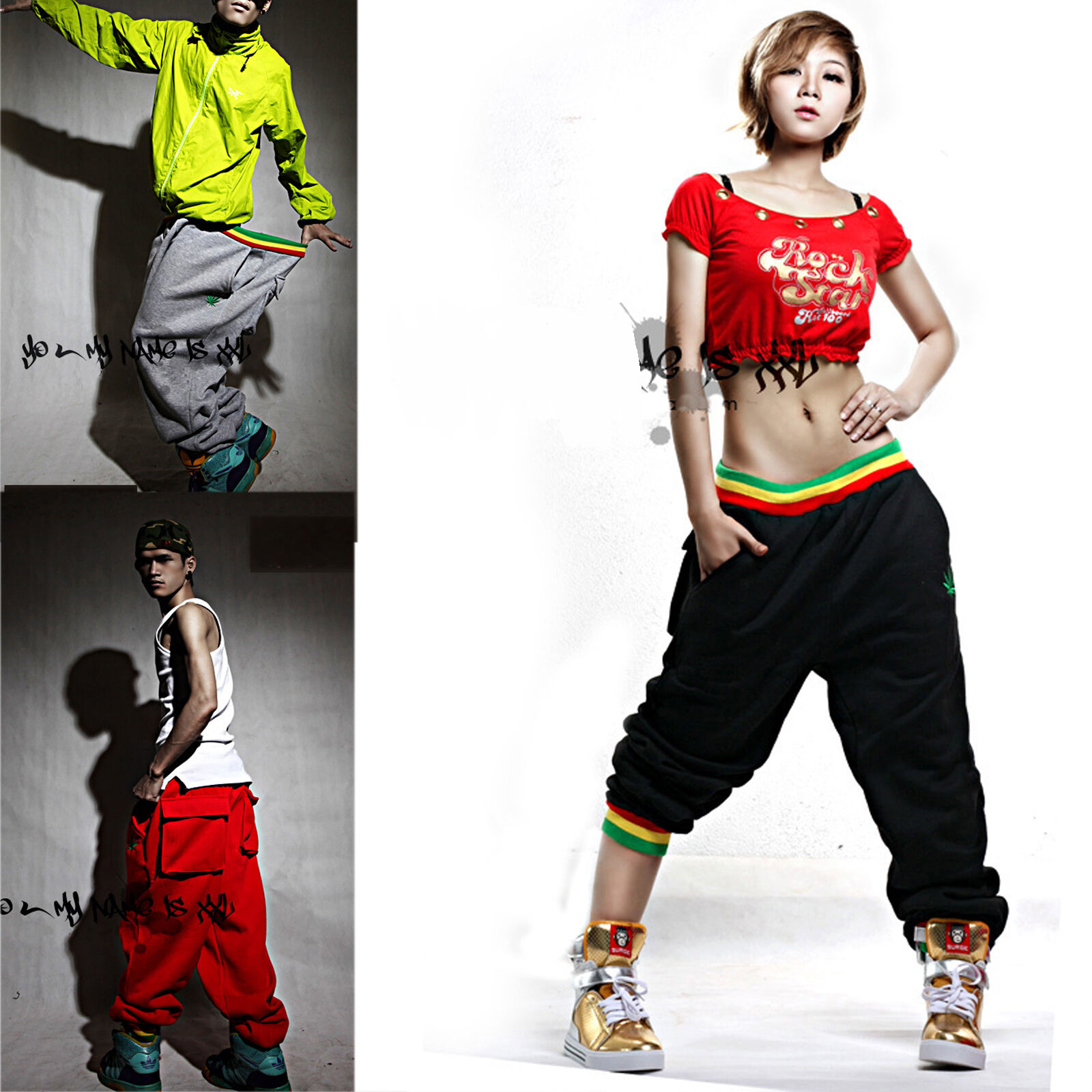 Wonderful Pants 2015 Harem Pants Women Sport Pants Casual Sweatpants Hip Hop