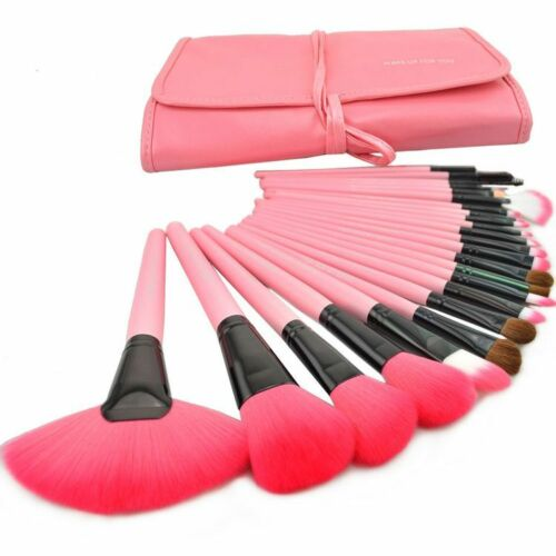 Hot Professional 24 PCS Cosmetic Makeup Brush Set Make-up Toiletry Kit Make Up in Health & Beauty, Makeup, Makeup Tools & Accessories | eBay
